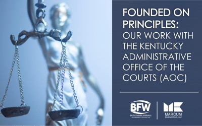 Our Work with the Kentucky Administrative Office of the Courts (AOC)